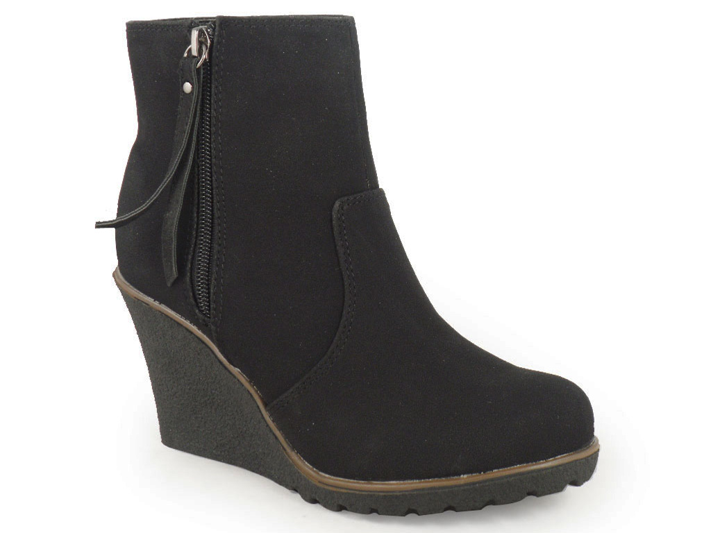 Women's Ankle Boots & Booties Boots. Discover the latest styles of women's booties and ankle boots from top brands! Shop women's boots at Famous Footwear today! Dr. Scholl's Women's Double Wedge Bootie Black. $ was $, save $ 25% OFF. Circus by Sam Edelman Women's Wanda Boot Black. $ was $, save $