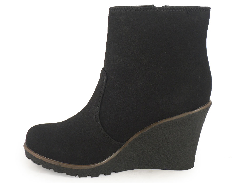 Wonderful Soreljoan Of Arctic Wedge Mid Grill Black Womens Waterproof Boots